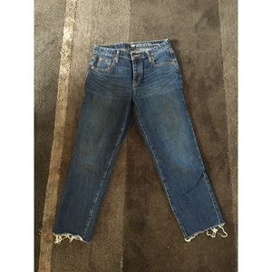 GAP vintage high rise ankle jeans